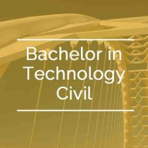 Bachelor in Technology Civil